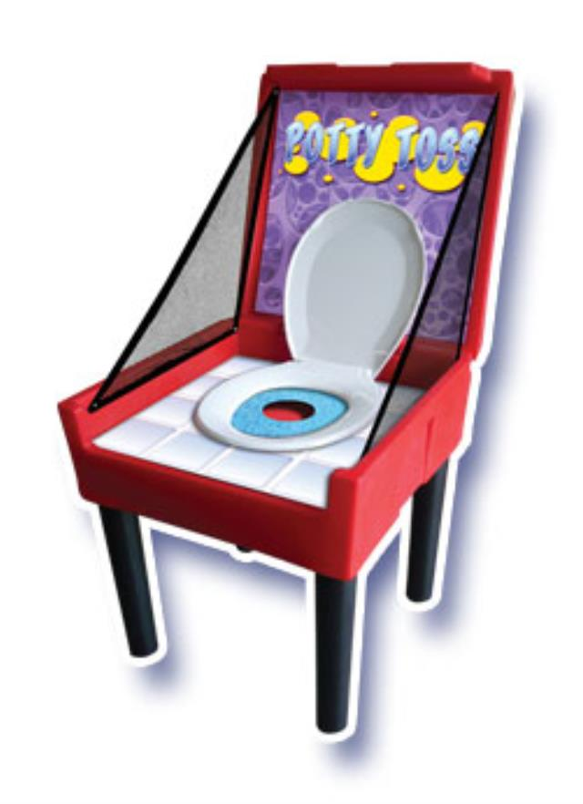 Where to find CARNIVAL GAME, POTTY TOSS in Newton