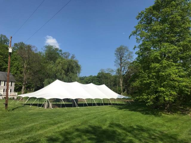 Where to find 40X100 POLE TENT in Newton