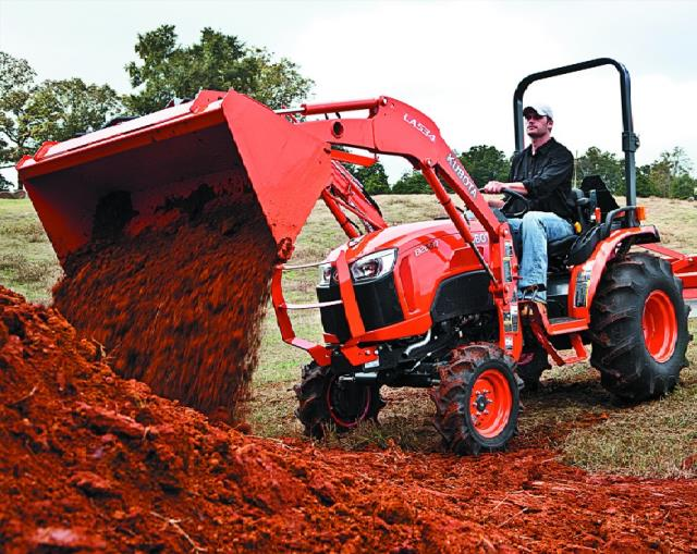 Where to find KUBOTA B2650 LOADER in Newton
