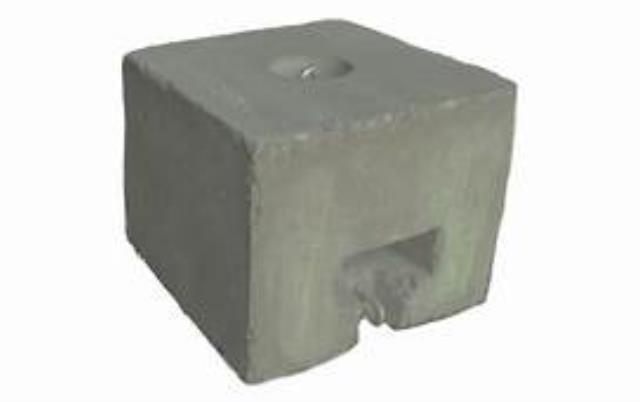 Where to find CONCRETE BLOCK, 500LBS in Newton
