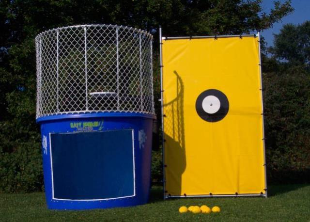Where to find DUNK TANK, 500 GALLON in Newton