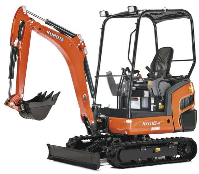 Where to find KUBOTA KX-018 EXCAVATOR in Newton