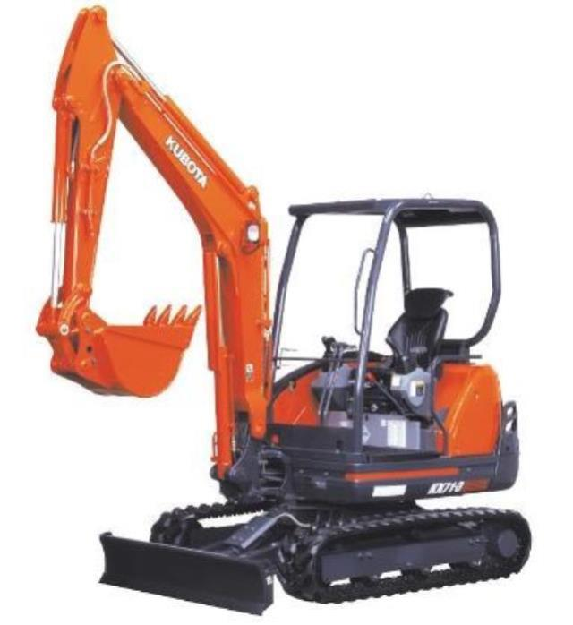 Where to find KUBOTA KX-71 EXCAVATOR in Newton