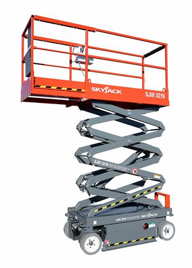 Where to find SCISSOR LIFT, SKYJACK 19 in Newton