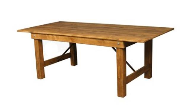 Where to find TABLE, FARM 40  X 108 in Newton