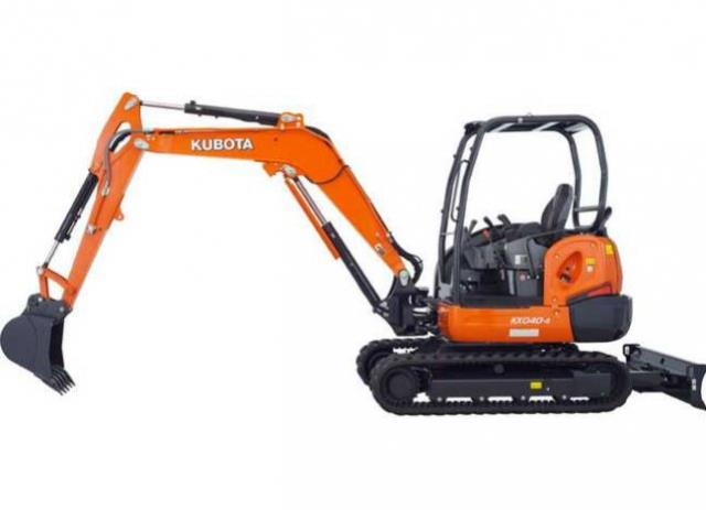 Where to find KUBOTA KX-040 EXCAVATOR in Newton