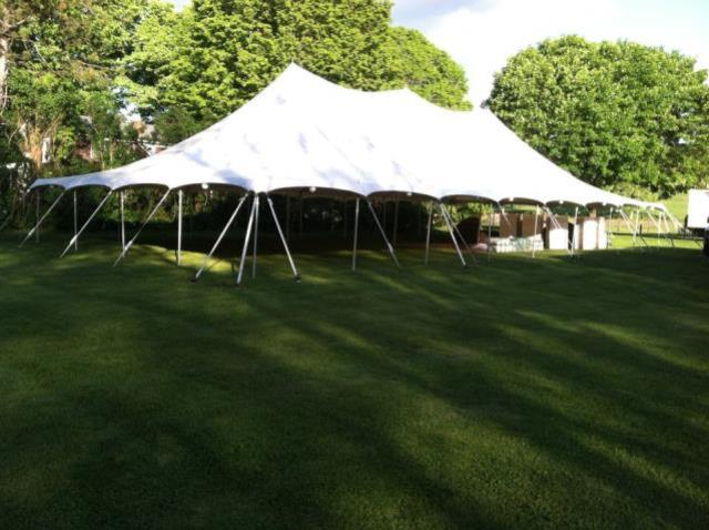 Where to find 40X80 POLE TENT in Newton