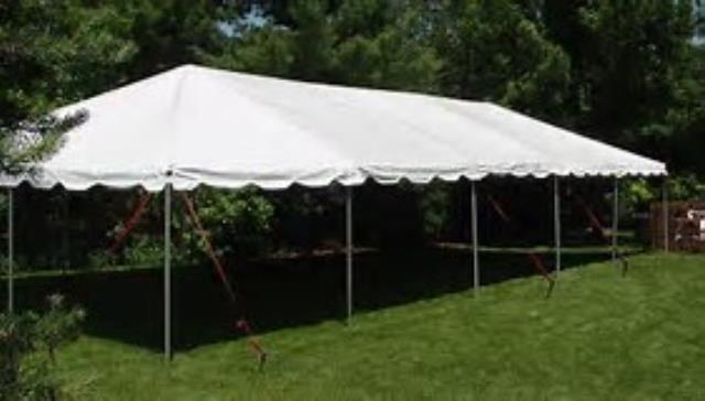 Where to find 20X50 FRAME TENT in Newton
