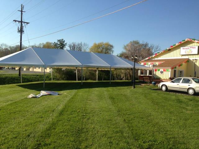 Where to find 30X75 FRAME TENT in Newton