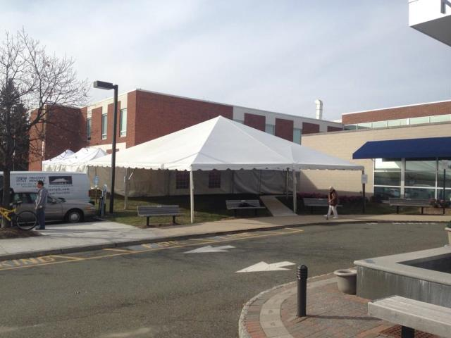 Where to find 40X40 FRAME TENT in Newton