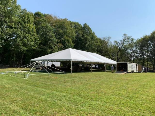 Where to find 40X80 FRAME TENT in Newton