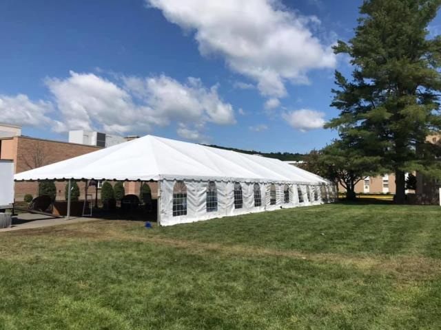 Where to find 40X120 FRAME TENT in Newton