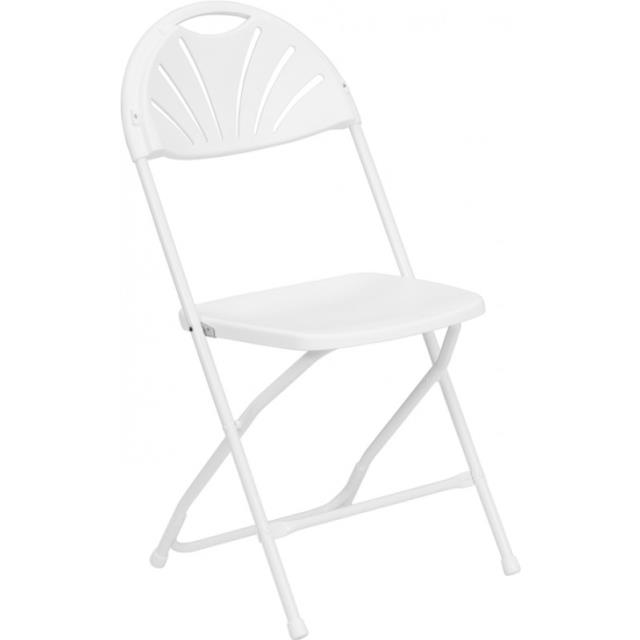 Where to find WHITE FANBACK CHAIR in Newton