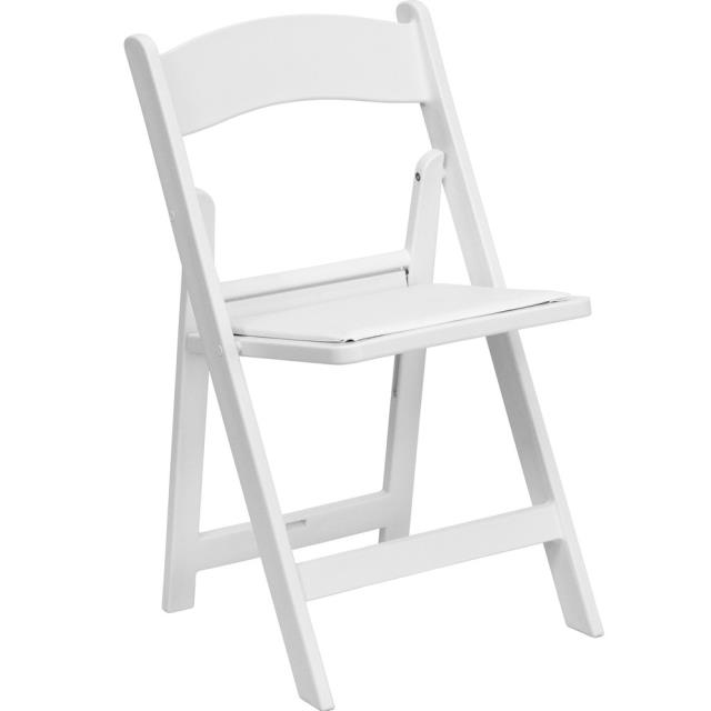 Where to find CHAIR WHITE PADDED in Newton