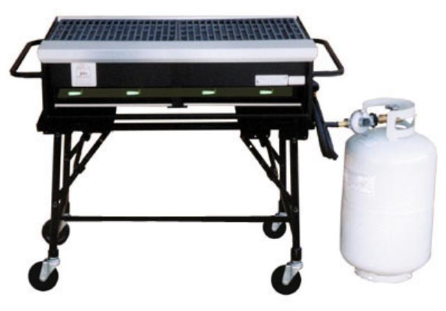Where to find 2  X 3  PROPANE GRILL in Newton