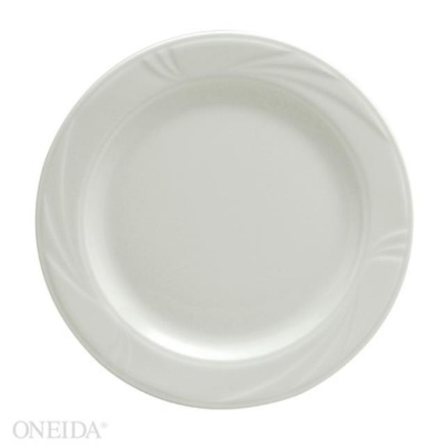 Where to find 9  LUNCHEON PLATE, WHITE in Newton