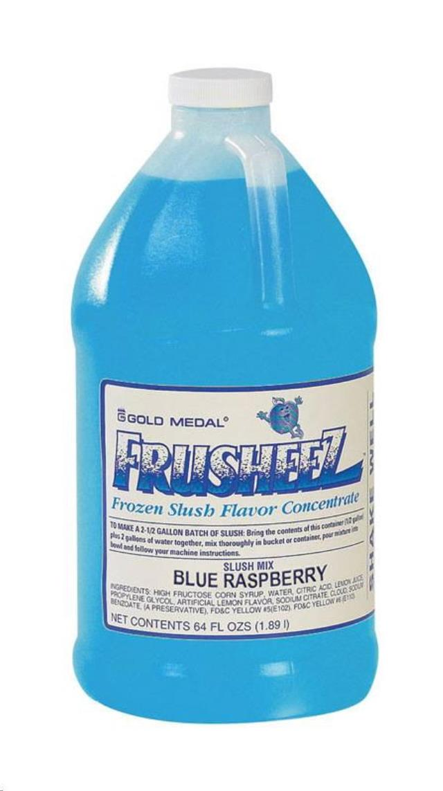 Where to find FROZEN DRINK MIX, BLUE RASPBERRY 1 2 GAL in Newton